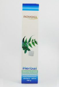 Best men's herbal shaving cream from Patanjali in India