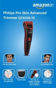 Philips QT4006/15 Pro Skin Advanced Trimmer Review