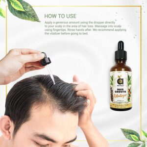 Best Hair growth vitalizer to buy online in India
